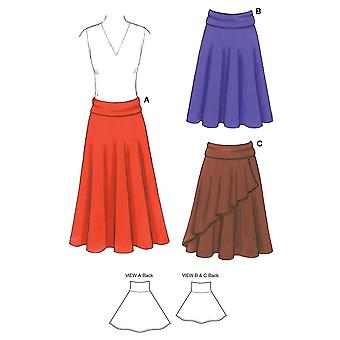 Skirts  Xs  S  M  L  Xl Pattern K3513