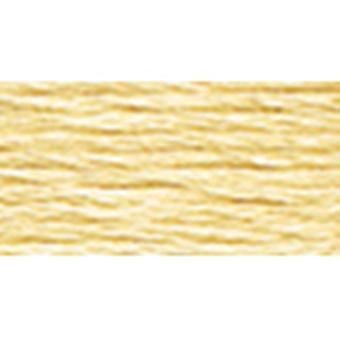 Dmc Six Strand Embroidery Cotton 100 Gram Cone Old Gold Very Light 5214 677