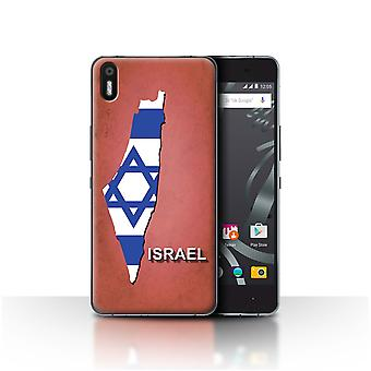 STUFF4 Case/Cover for BQ Aquaris X5/Israel/Israeli/Flag Nations