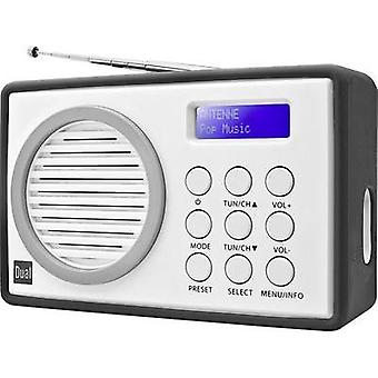 DAB+ Portable radio Dual DAB 81 DAB+, FM Grey, White