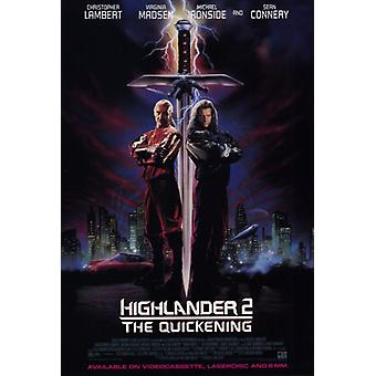 Highlander 2 The Quickening Movie Poster Print (27 x 40)