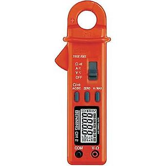 Current clamp, Handheld multimeter digital Benning CM 2 Calibrated to: Manufacturer standards CAT II 600 V, CAT III 300