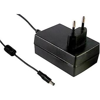Mains PSU (fixed voltage) Mean Well GSM36E12-P1J 12 Vdc 3000 mA 36 W