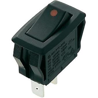 Toggle switch 250 Vac 16 A 1 x Off/On SCI R13-205A2-01 latch 1 pc(s)