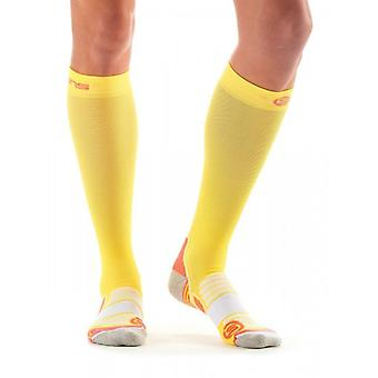 Skins Essentials Women's compression socks limoncello/pomelo ZB99589339212
