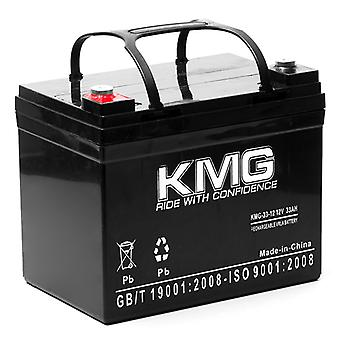 KMG� 12V 33Ah Replacement Battery for Power Rite PRB1233