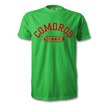 Comoros Soccer Kids T-Shirt