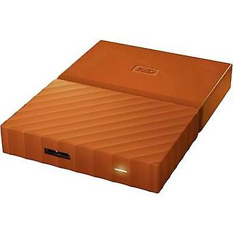 2.5 external hard drive 1 TB Western Digital My Passport Orange USB 3.0