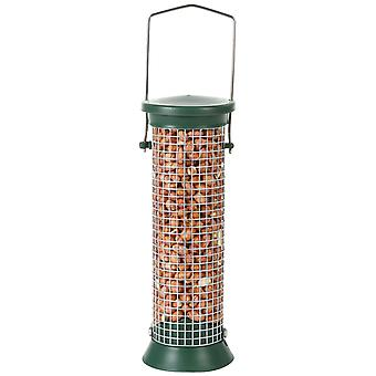 Cj Challenger Plastic Peanut Feeder Green Small 20cm