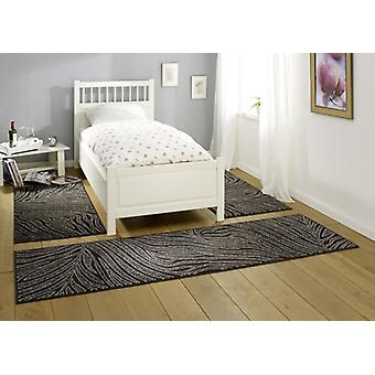 Design bed surround Belva | dark brown/cream/gray 3teilig