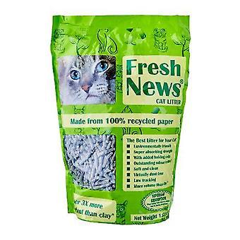 Friske nyheder kattegrus 1.82kg (4lb) (pakke med 6)
