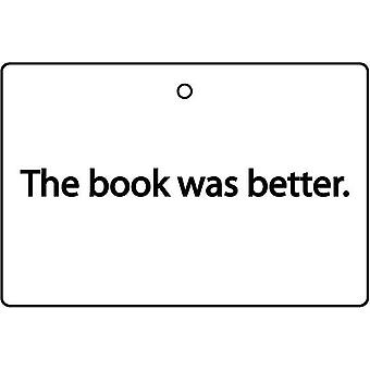 O livro foi melhor refrogerador de ar do carro