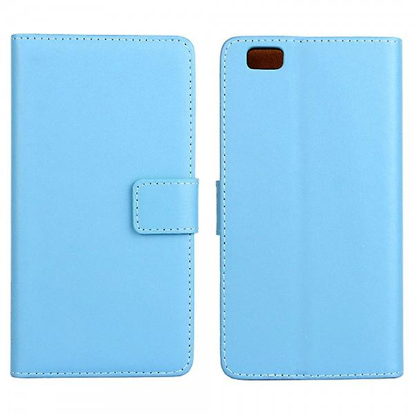Pocket wallet Deluxe light blue for Huawei Ascend P8 Lite