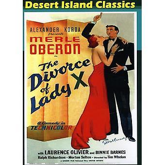 Skilsmissen for dame X (1938) [DVD] USA import
