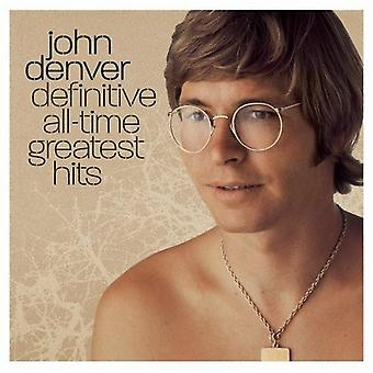 John Denver - Definitive All-Time Greatest Hits [CD] USA import