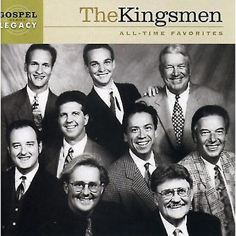 Kingsmen - All Time Favorites [CD] USA import