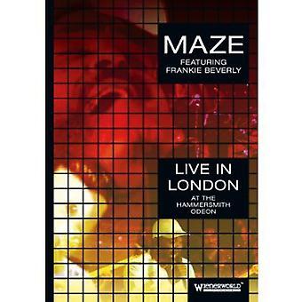 Labyrint & Frankie Beverly - Live på Hammersmith Odeon [DVD] USA importen