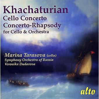 A. Khachaturian - Khachaturian: Cello Concerto's [CD] USA import