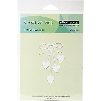 Penny Black Creative Dies-Heart Bow, 1.7