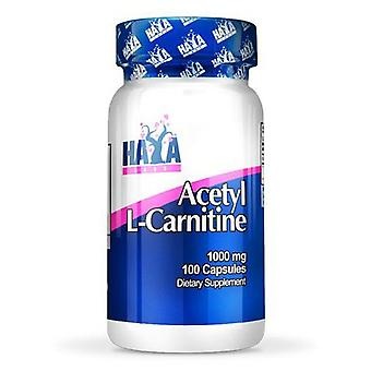 Haya Labs Acetyl L-Carnitine 1000mg 100 Capsules (Sport , Thermogenics)