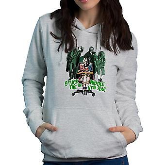Suicide Squad Harley Quinn Stuck In The Middle Women's Hooded Sweatshirt