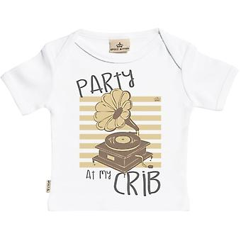 Spoilt Rotten Party At My Crib Short Sleeve Baby T-Shirt