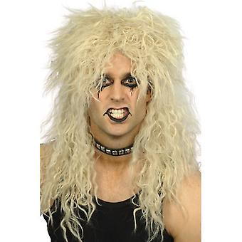 Smiffys Hard Rocker Wig Blonde Long Tousled (Costumes)