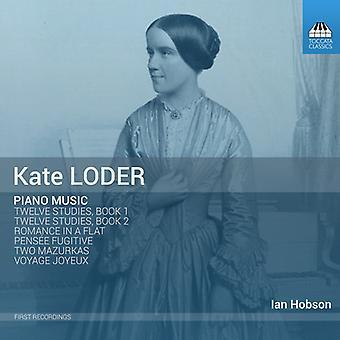 Loder / Hobson - Kate Loder: klavermusik [CD] USA import