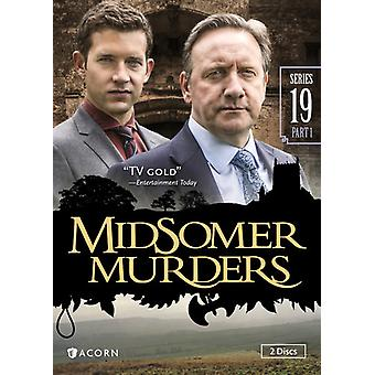 Midsomer Murders: Series 19 [DVD] USA import