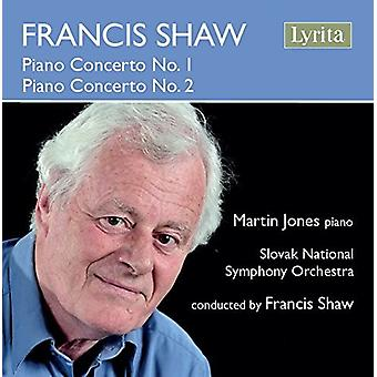 Shaw / Jones / slovakiske nationale Symfoniorkester - Shaw: klaver Concerto No 1 [CD] USA import