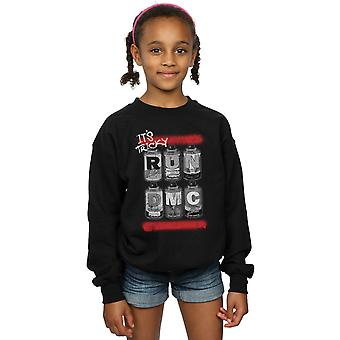 Run DMC Girls Spray Cans Sweatshirt