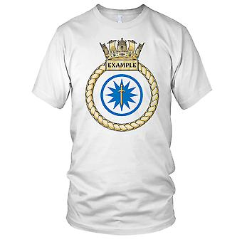 Royal Navy HMS Example Kids T Shirt