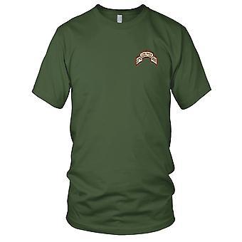 US Armee - 327th LRS Infanterie Wüste gestickt Patch - Damen T Shirt