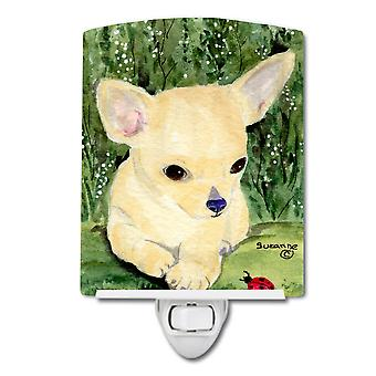 Carolines Schätze SS1010CNL Chihuahua Keramik Nachtlicht