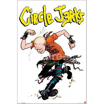 Circle Jerks Poster Poster Print