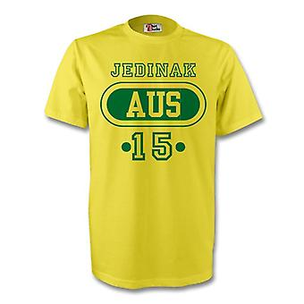 Mark Bresciano Australia Aus T-shirt (yellow) - Kids