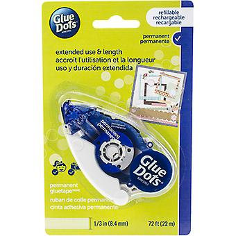 Glue Dots Tape Runner-Permanent .333x72' 41601