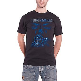 Iron Maiden Final Frontier Blue Album Spaceman New Mens T shirt