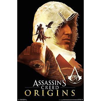 Assassins Creed Origins - Profile Poster Print