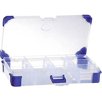Assortment box (L x W x H) 200 x 110 x 30 mm VISO No. of compartments: 12 variable compartments