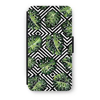Huawei P8 Lite (2015-2016) Flip Case - Geometric jungle