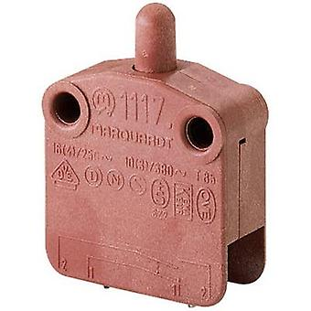 Marquardt 1117.0101 Pushbutton 400 V AC 16 A 1 x Off/(On) IP40 momentary 1 pc(s)