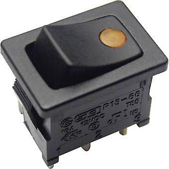 Toggle switch 12 Vdc 16 A 1 x Off/On SCI R13-66B2-