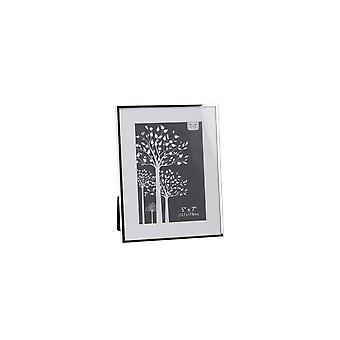 CGB presentartiklar Silver platta kanten fotoram (5x7in)
