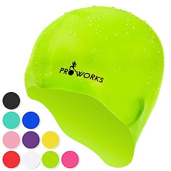 ProWorks Swimming Cap - Green