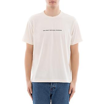 Our legacy men's 1187BTPPMPEARL white polyester T-Shirt