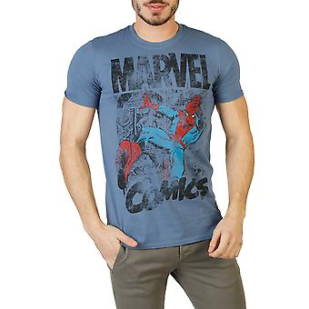 Marvel Men T-shirts Blue