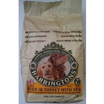 Harringtons Rich Turkey with Veg Complete Dog Food - 2kg