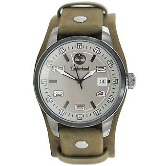 Timberland hommes watch montre cuir analogique TBL. 14337JSUB/61