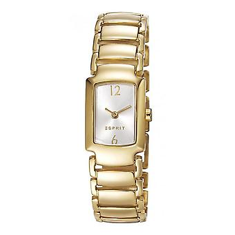 ESPRIT ladies watch wristwatch stainless steel gold Dana ES106642002